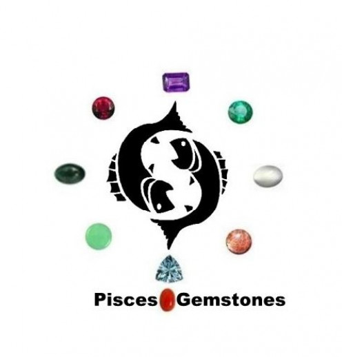 Pisces Gemstones : Amethyst, Aquamarine, Bloodstone, Ruby, Moonstone, Emerald, Chrysoprase, Coral and Sunstone.