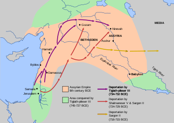 Deportation of Israelites by the Assyrian Empire