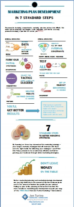 New Marketing Plan Development Infographic