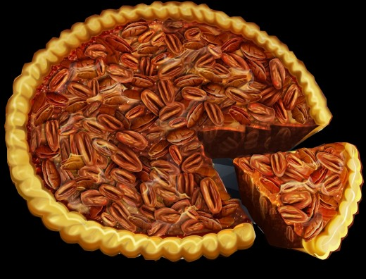 Pecan Pies are easy to make at home