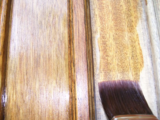 Smoothly Brush on Stain