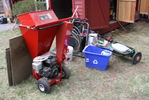 Equipment in Storage
