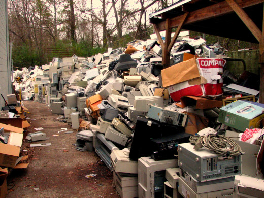 E-Waste is a problem that is growing.