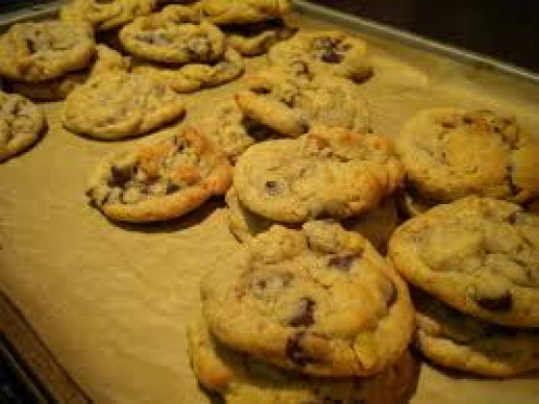 Chocolate chip cookies are easy to bake in the oven thanks to Ruth Wakefield inventing them in the 1930's.