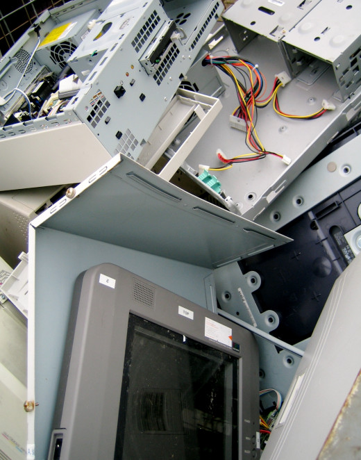 Recycling your e-waste properly can ensure e-waste doesn't get sent to third world countries.