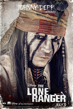 Johnny Depp born to play Tonto in The Lone Ranger