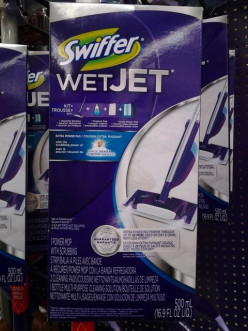 Swiffer Wet Jet, Shark Steam Mop or O cedar Pro Mist Mops; a product review and comparison.