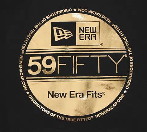 The 59Fifty sticker on New Era caps