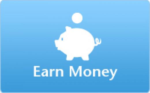 Earn money through Google Adsense.