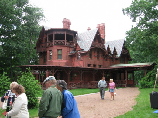 Mark Twain's Hartford, Connecticut, home is where he wrote some of his most beloved novels.