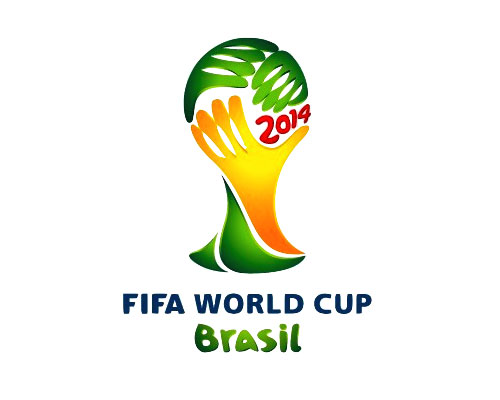 The 2014 FIFA World Cup Logo. Creative, Powerful and Refreshing