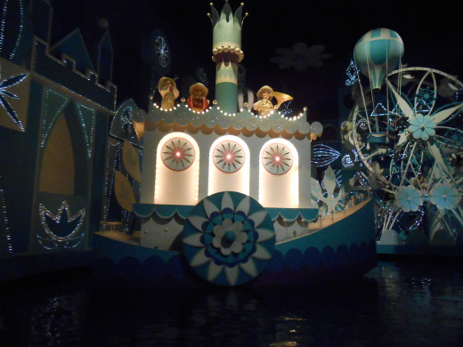 It's a Small World ride is number 6 on the list, in old Fantasyland.