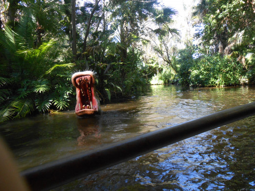 Hippos and campy humor abound on the Jungle Cruise, number 11 on the list.