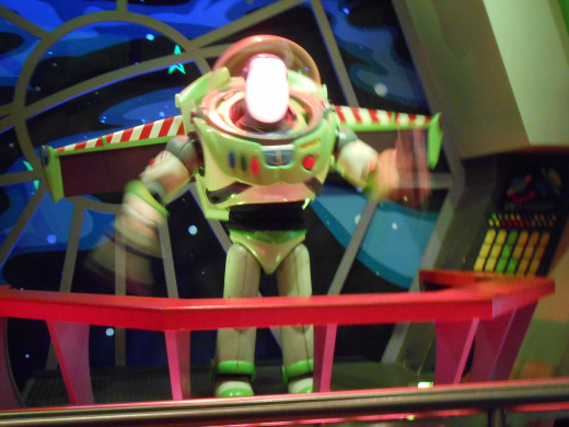 Don't miss Buzz Lightyear's Space Ranger Spin, number 12 for the day's attractions.