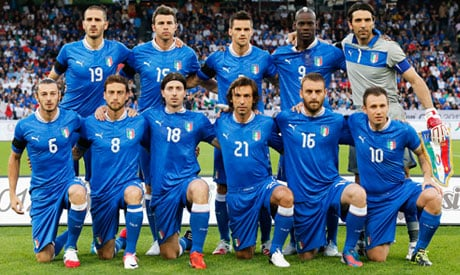 The Italians are ready for battle in Brazil 2014 FIFA World Cup