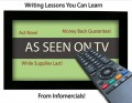Writing Lessons You Can Learn from Infomercials