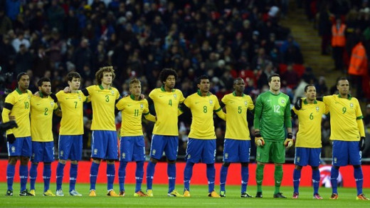 The Brazilian squad is ready to regain the title of a World Cup Champion once again!