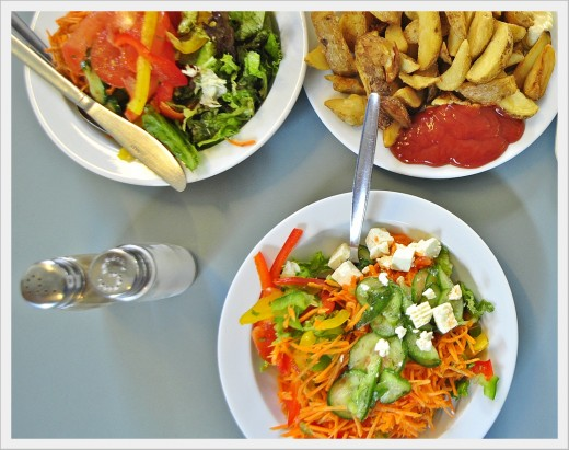 Every canteen has something healthy to fuel your body