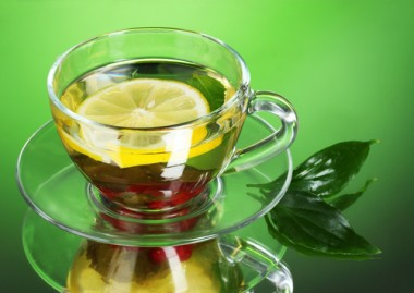 Cup of Green Tea for Health