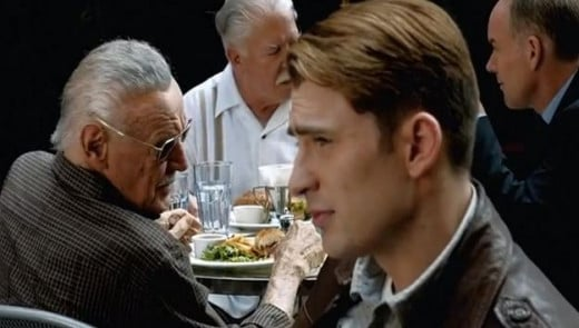 Stan Lee Cameo in Deleted Scene from Avengers