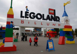 Legoland  in Billund Denmark.