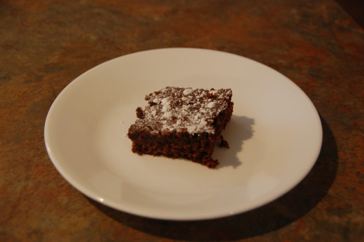 Delicious and moist brownies from a cake mix