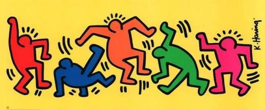 Keith Haring - Characters
