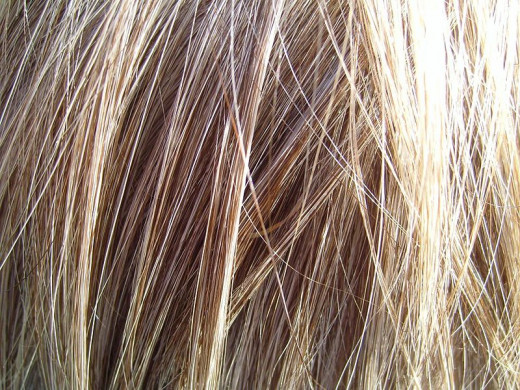 Blond hair without Clairol public domain Fae