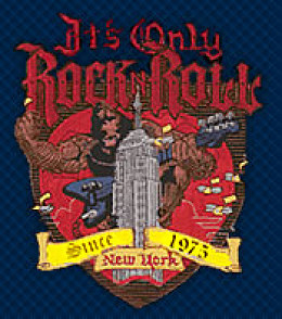 The Famous It's Only Rock N Roll logo