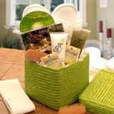 Refreshing spa gift basket