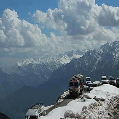 World's highest Manali-Leh road