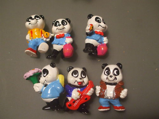 Ferrero Panda figurines sold for $5.99
