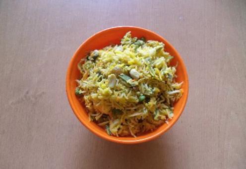 Kashmiri Pulao Recipe - Ingredients and method of preparation of Kashmir Pulav Rice