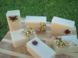 Handmade organic soap is good for our skin as well as good for our environment