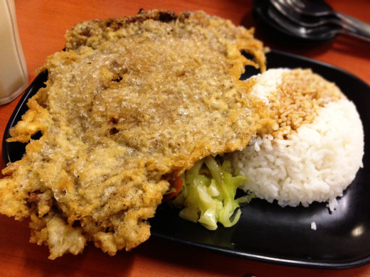 Famous Fried Pork Chop of Tasty Dumplings