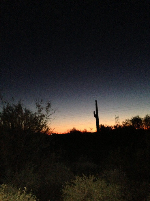 Late Arizona Sunset