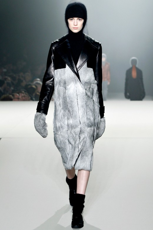 Alexander Wang, Model: Vanessa Axente, Photo: Monica Feudi