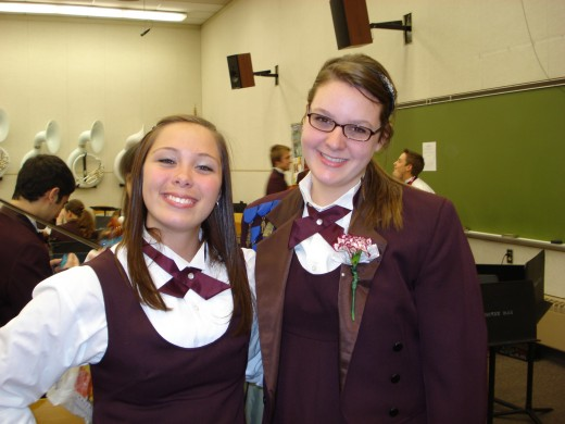 Once members of the national championship Boardman High School Orchestra, Loryn(Violin) and Ellen(Bass) now play in the orchestras of their respective universities.