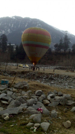 Balloon Ride in Manali