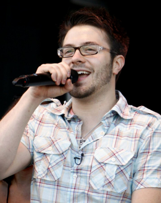 Danny Gokey in his hometown of Milwaukee, Wisconsin