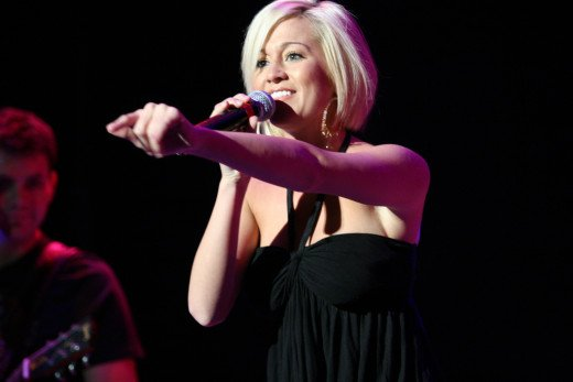 Kellie Pickler live, 7/8/2007.