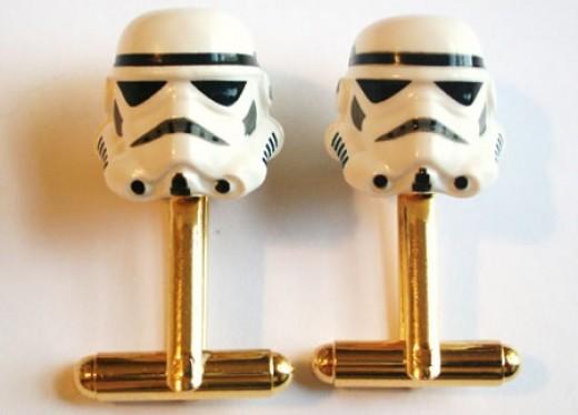 Storm Trooper Cufflinks