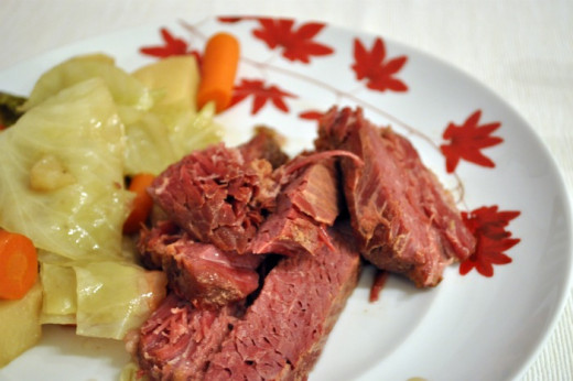 A traditional main dish