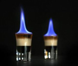 Flaming B52