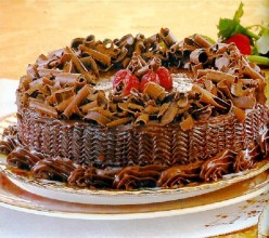 Chocolate Cake with Espresso Glaze