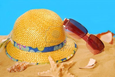 Summer Hat and Sun Glass