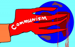 IN 1917 THERE WAS A REVOLUTION AND RUSSIA WAS HEADED TOWARD COMMUNISM.