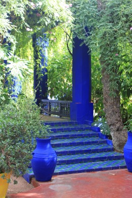 The Majorelle Gardens is the most amazing Moroccan garden.