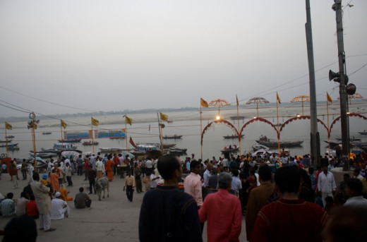An Evening in the Ganges