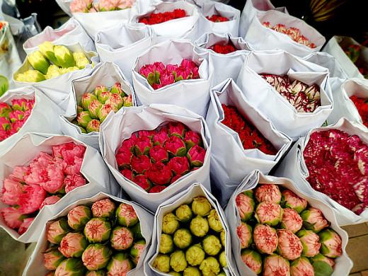 So many bouquets to choose from!